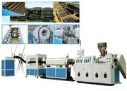 Линия для производства спиральных армированных труб изPE