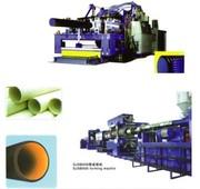 Экструзионная линия для производства двустенных гофрированных труб из