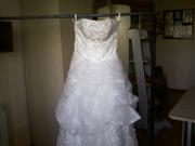 Свадебное платье новое р-р 42-46