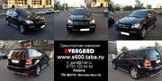 Аренда джипа Mercedes-Benz GL 550 черного цвета для любых мероприятий