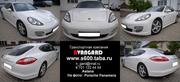 Аренда автомобиля Porsche Panamera белого цвета для любых мероприятий
