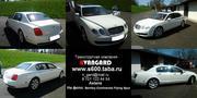 Аренда автомобиля Bentley Continental Flying Spur белого цвета для люб