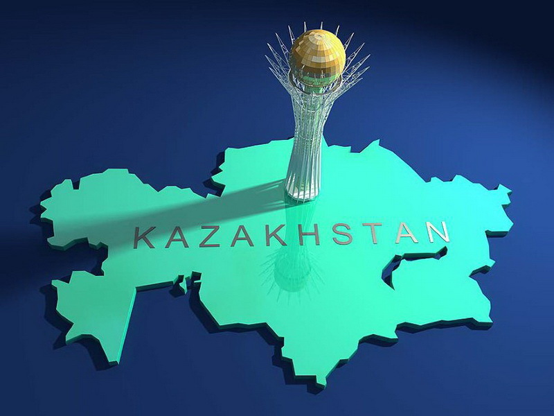Карта Казахстана Карта мира Республика Казахстан