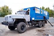 Агрегат исследования скважин АИС-1 на базе Урал 4320