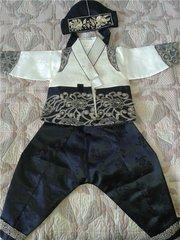 Корейский ханбок на асянди годик ребенка