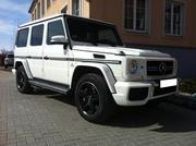 Самый крутой кортеж из черных и белых Mercedes-Benz G-Class,  G63 AMG,