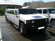 Лимузин Hummer H2 для свадьбы. Астана.