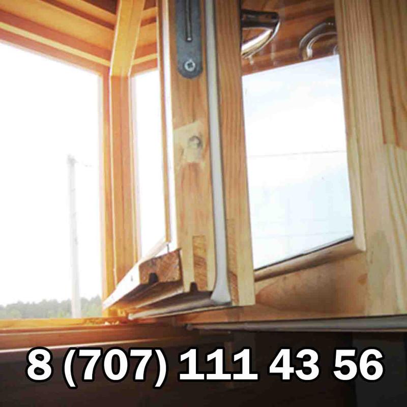"""Утепляем деревянные окна ооо """"студия дерева""""."""
