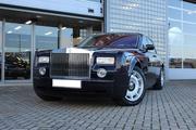 Аренда Rolls Royce Phantom чёрного и белого цвета для любых мероприяти