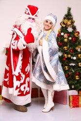 Дед Мороз и Снегурочка в Астане