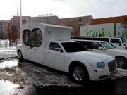 Новинка Chrysler 300C Карета белого цвета для любых мероприятий.