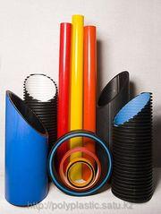 Полиэтиленовые трубы для водоснабжения и газоснабжения и другие.