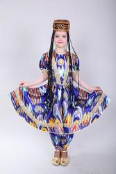 Взрослые и детские национальные Узбекские костюмы на прокат в Алматы