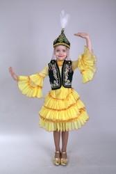 Казахские национальные костюмы для девочек  на прокат