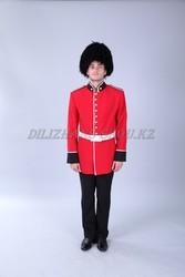 Прокат английского  костюма стражника в прокат в Астане