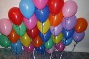 Гелиевые шары.оформление шарами.Астана