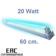Кварцевая,  ультрафиолетовая,  бактерицидная лампа 20 W.