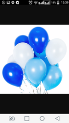 Гелиевые шары на выписку из роддома