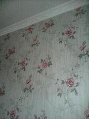 Покраска стен потолков 300тг. Поклейка обоев 350тг. Ремонт квартир Астана