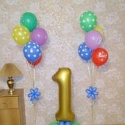 воздушные шары на выписку из роддома и день рождение