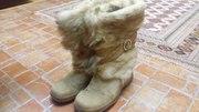 Продам сапоги зимние 36-37 размера,  женские