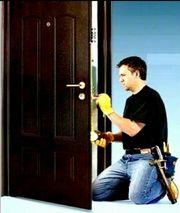 установка двери любого вида сложности в Астане
