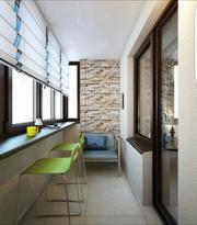 Утепление балконов и лоджий в Астане