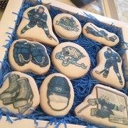 печенье с нанесением логотипа,  фотографий,  картинок!