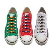 Силиконовые шнурки для обуви 10 шт