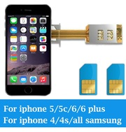 Устали носить 2 телефона,  переходник на 2 SIM карты IPhone и Samsung