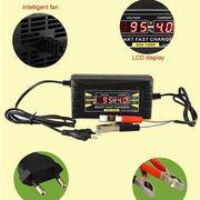 Умное зарядное устройство для аккумулятора авто с ЖК-дисплеем