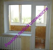 Ремонт,  регулировка металлопластиковых окон,  дверей