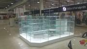 Изготовим торговое оборудование из стекла
