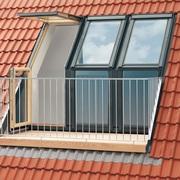 Нижние элементы и карнизные мансардные окна VELUX