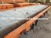 Металлоформы пустотных плит перекрытия. Вибро-термо стенды.