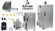 Коптильни для горячего и холодного копчения Польского производства