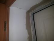 Ремонт дверных и оконных откосов после монтажа.