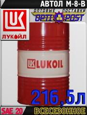 Моторное масло ЛУКОЙЛ М-8В 216, 5л