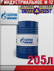 Газпромнефть Масло индустриальное И-12А 205л