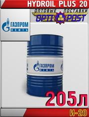 Газпромнефть Масло индустриальное И-20А 205л