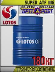 Трансмиссионное масло для АКПП LOTOS SUPER ATF IIIG 180кг