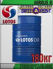 Многофункциональное масло LOTOS AGROLIS U 180кг