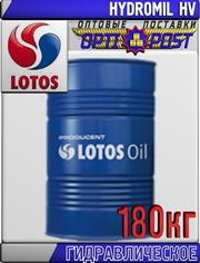 Гидравлическое масло LOTOS HYDROMIL HV 180кг