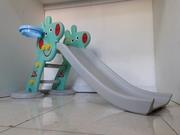 Детская игровая горка Свинка Пеппа с корзиной и рогом/Свинка Пэппа