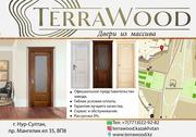 Массивные двери Астана